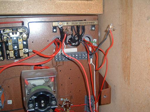 Electrical wiring fault found by building inspector